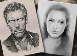 Портрет карандашом с нуля