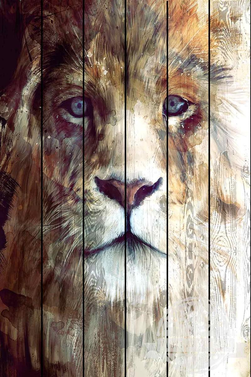 ЭКО -ДЕКОР  пишем картины на деревянном панно