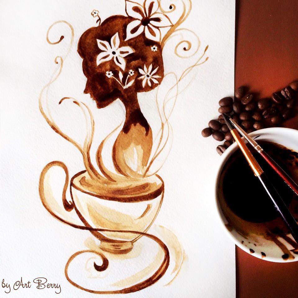 Кофейная гризайль